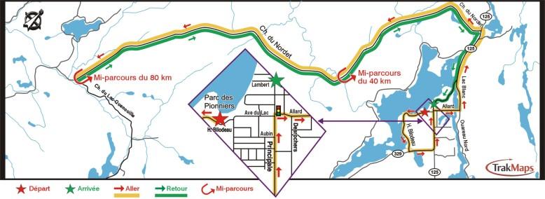 Parcours de la Cyclo San Donato