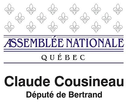 Député Claude Cousineau carte